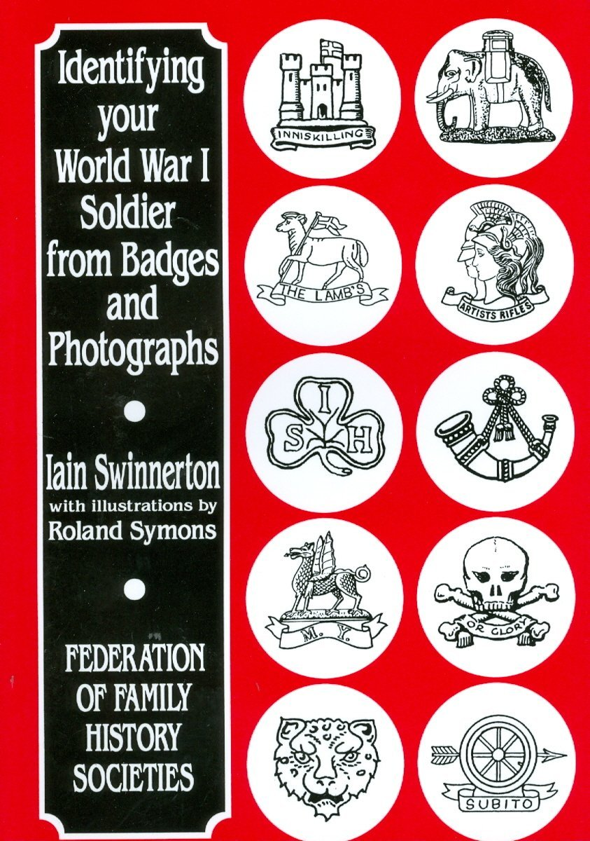 WW1 soldiers from badges and photographs