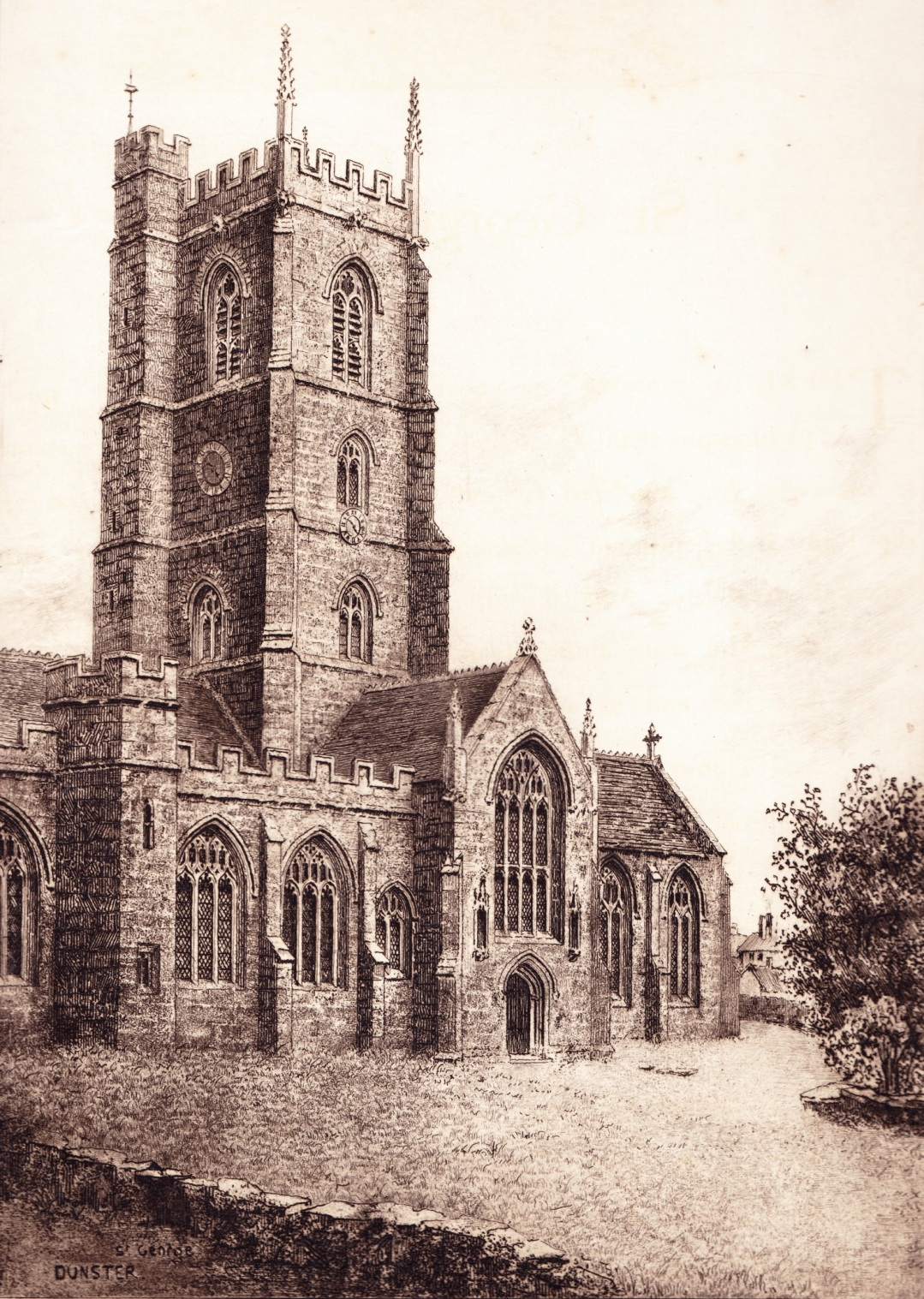 St George, Dunster by Elizabeth Piper