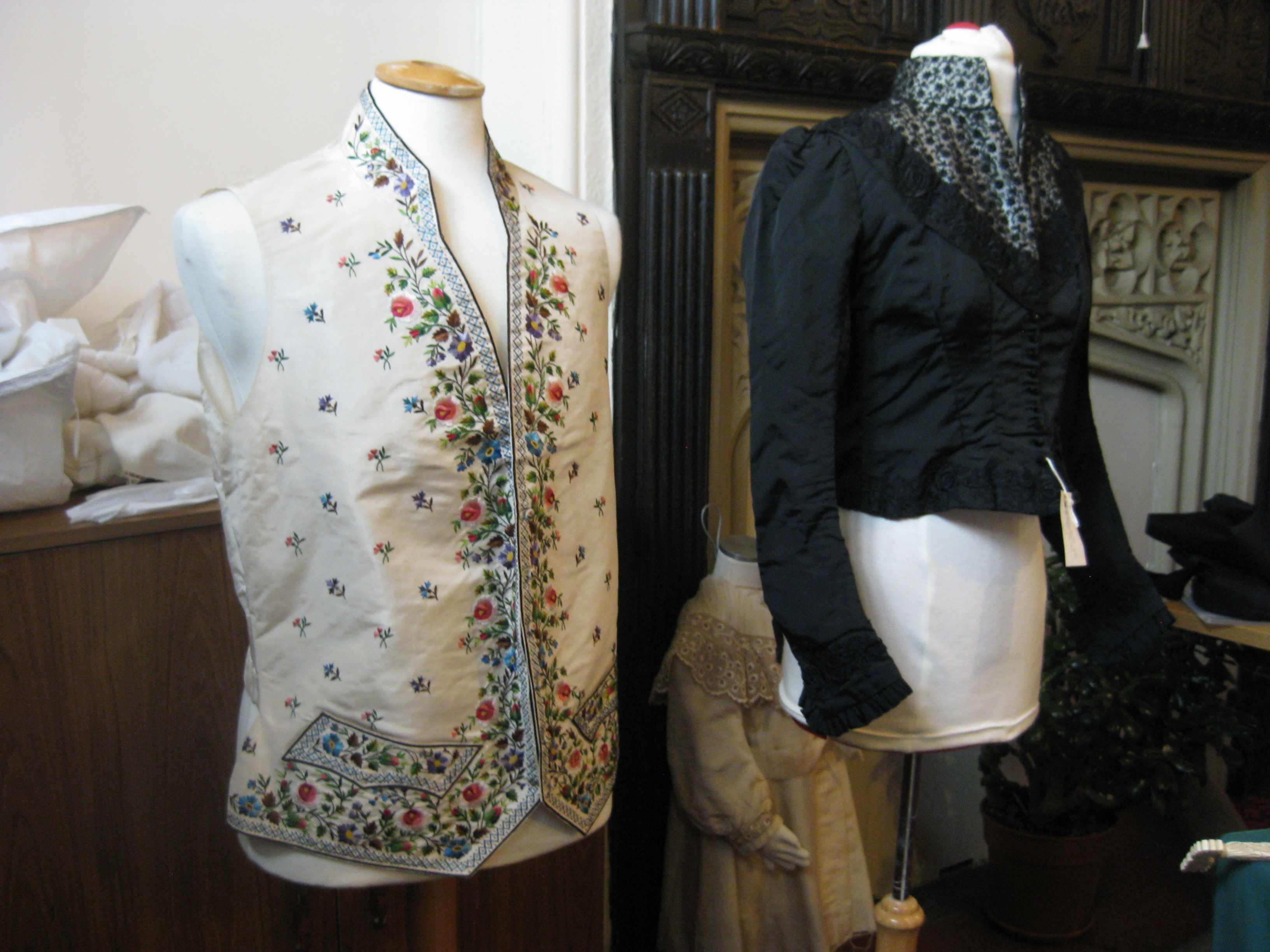 Silk costumes