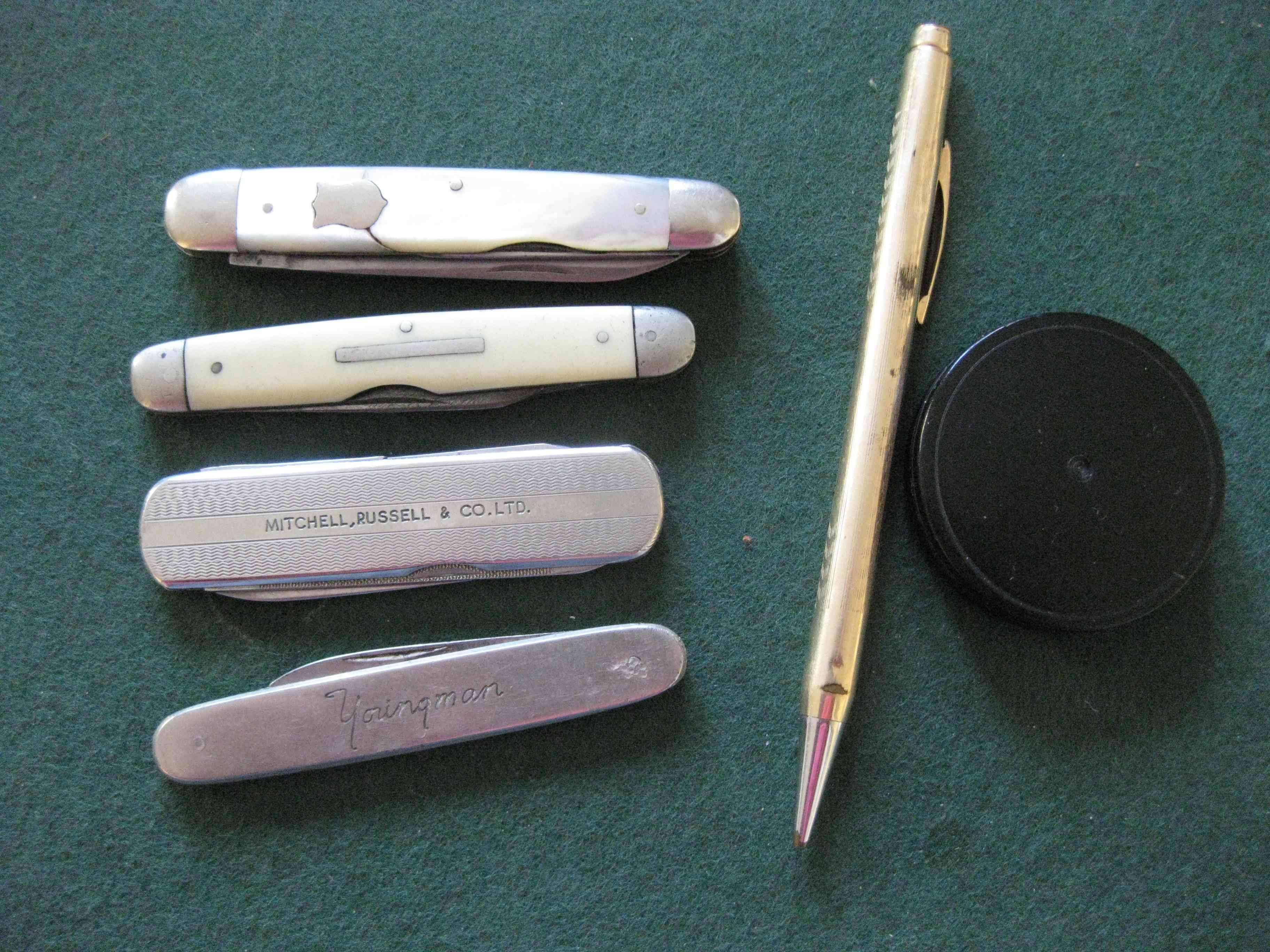 Barbara's penknives low