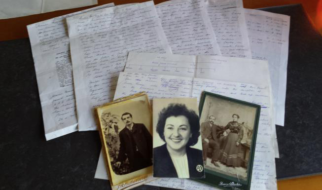 Kerris' mother's notes