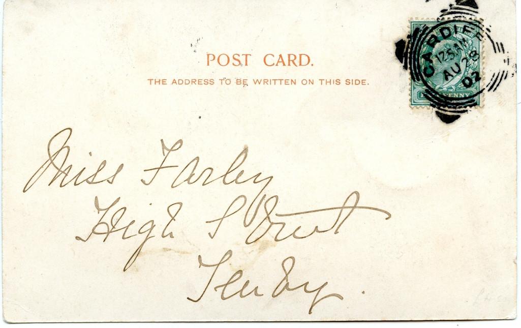 Carlisle Post Card Back