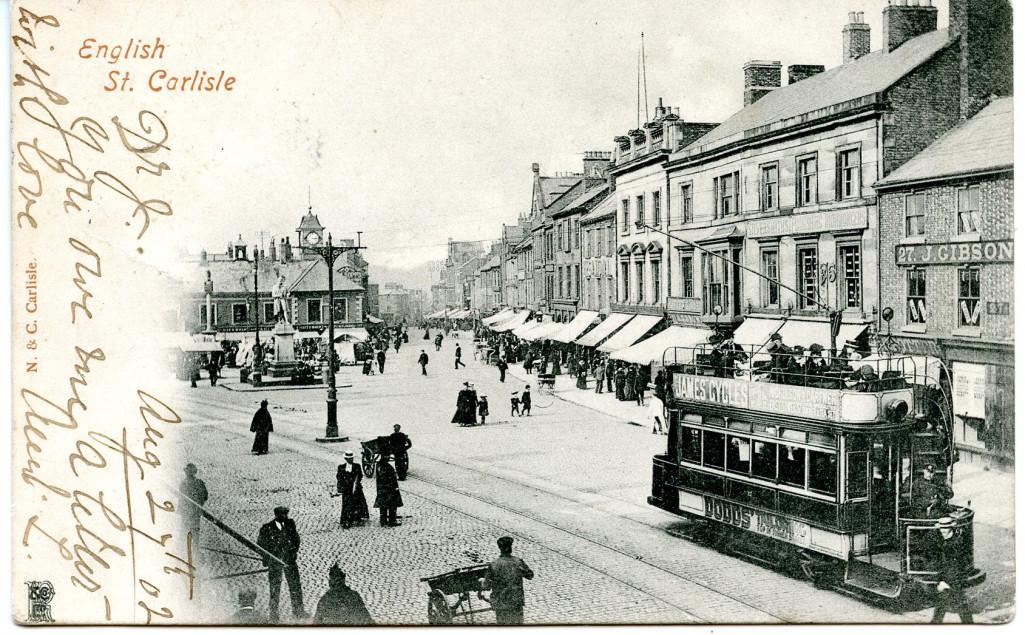 Carlisle Post Card Front