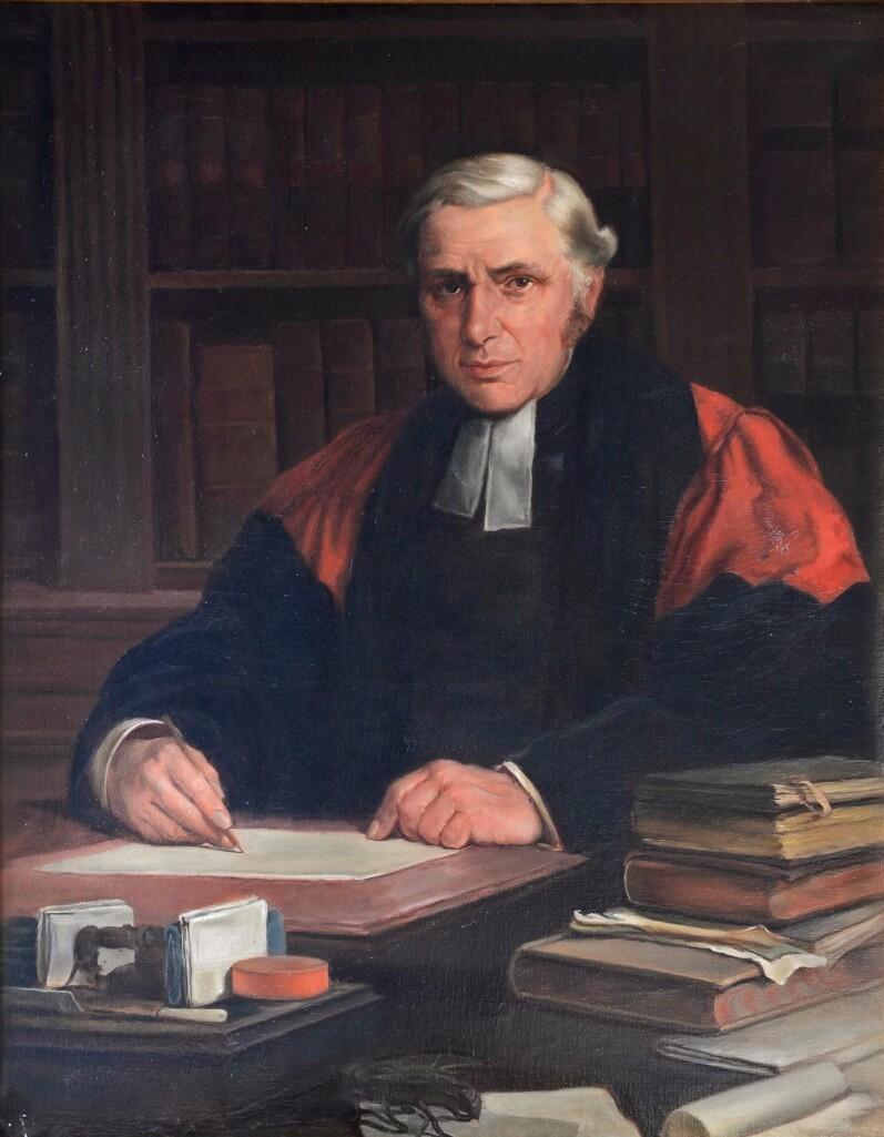 H. D. Harper, headmaster 1850-1877