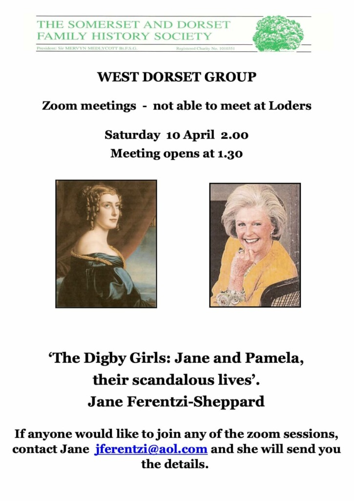 The Digby Girls: Jane and Pamela, their scandalous lives