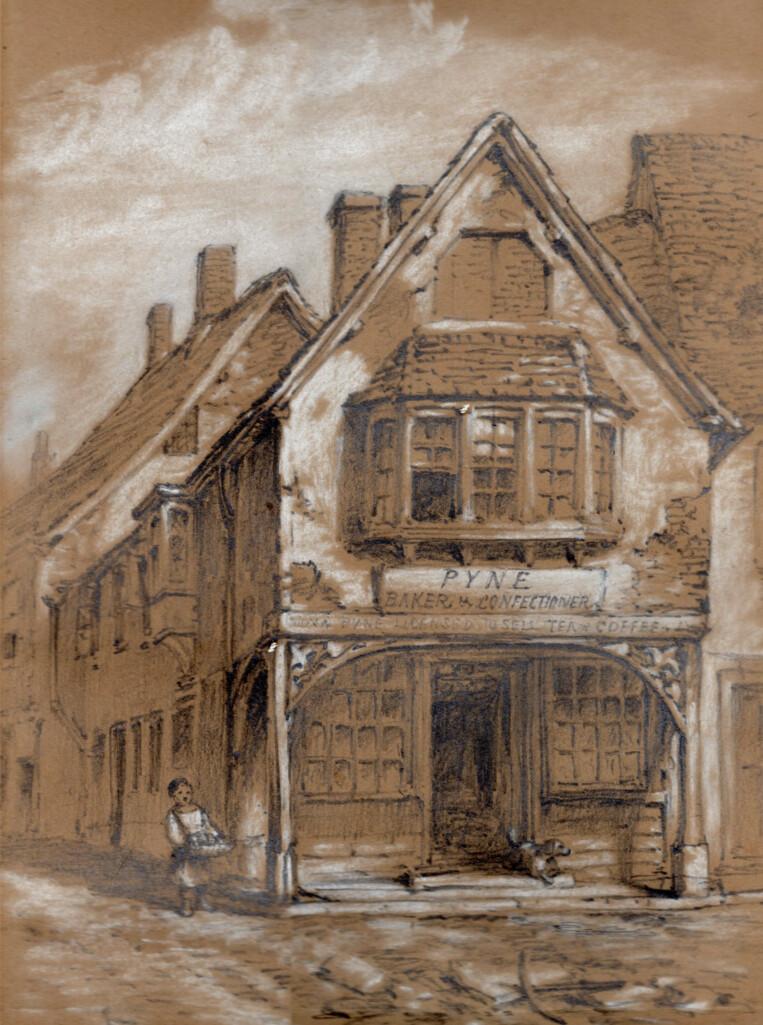 Bob 1865 - Borough - Under Bow by W Tiffin