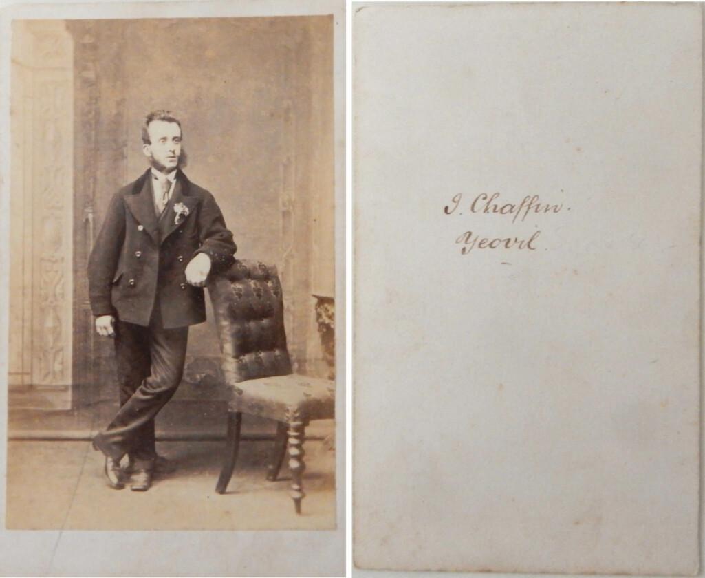 Bob 1862 - Chaffin carte de visite